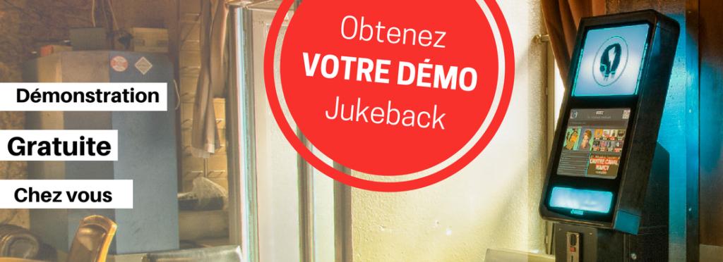 Démonstration gratuite Jukeback